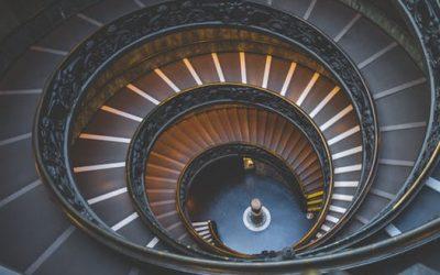 Kaip lipti laiptais?